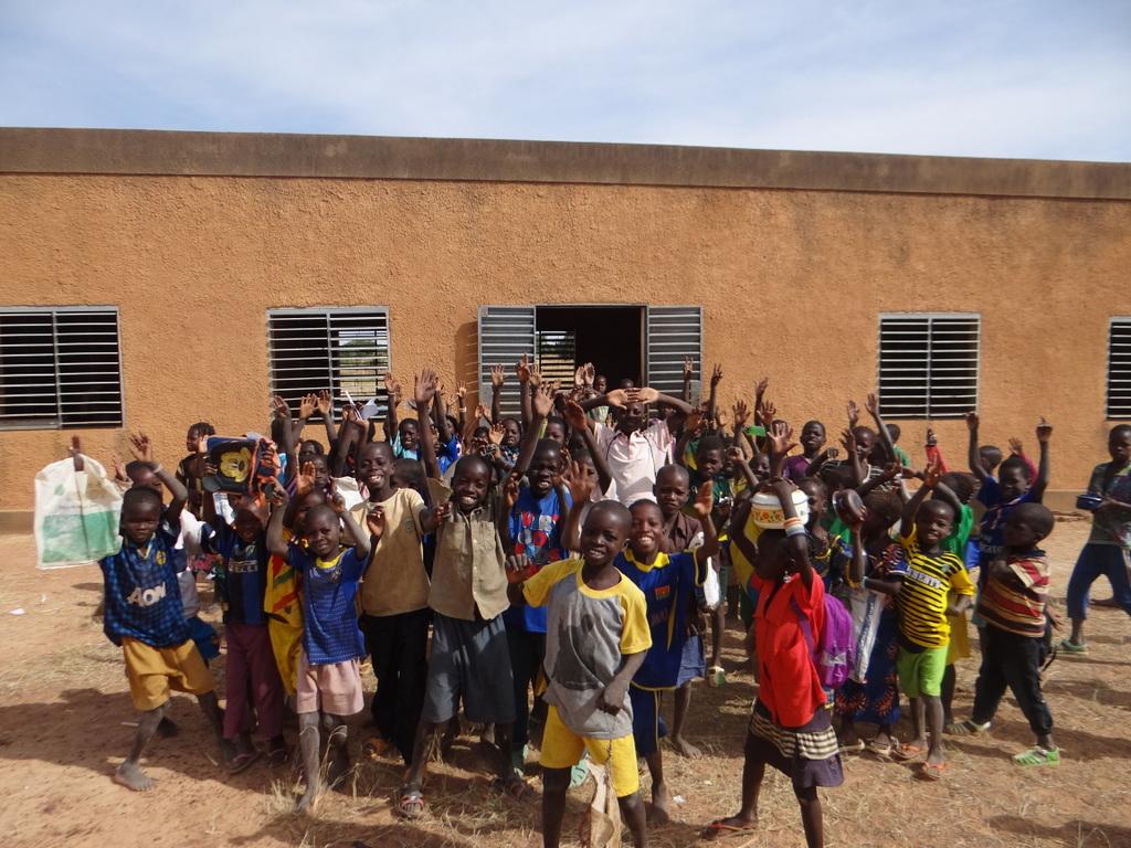 Schüler in Gargaboulé