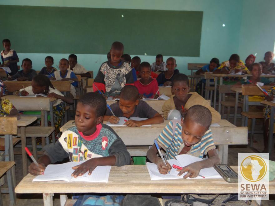 Unterricht in Boguel Sawa